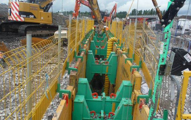 Drainage and Ducting at The Mersey Gateway Project